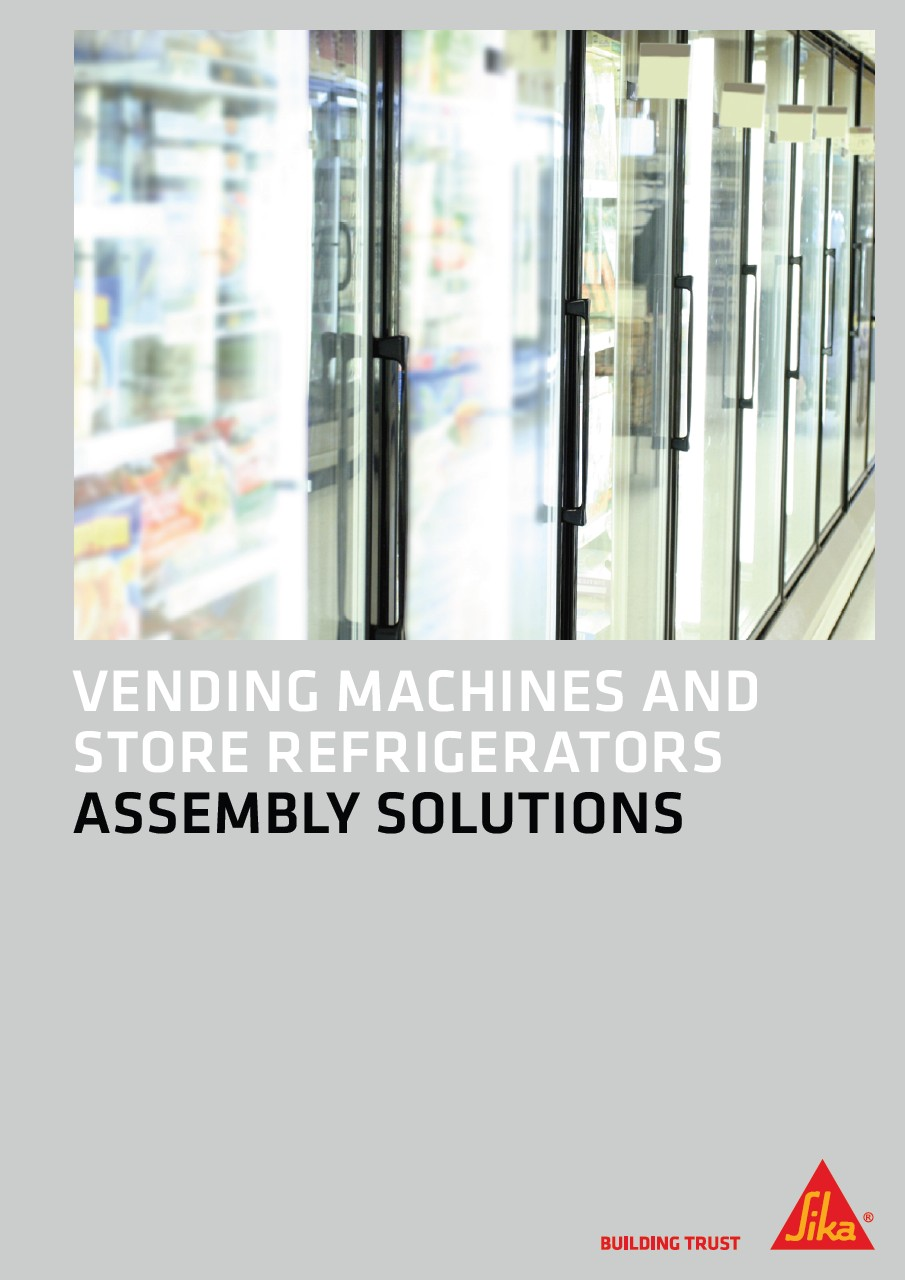 Vending Machines and Store Refrigerators - Assembly Solutions